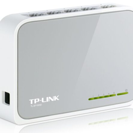 TP-LINK Desktop Switch TL-SF1005D, 5-port 10/100M, Ver. 15.0